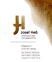 Distributor, Wholesaler PEFC Exporters Companies  - Josef Heß Internationaler Handelspartner