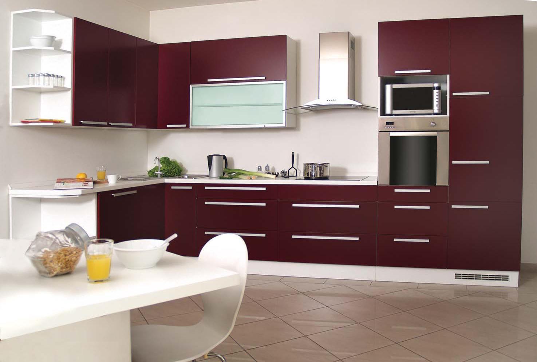 Ensemble de meubles de cuisine design 10 100 pièces